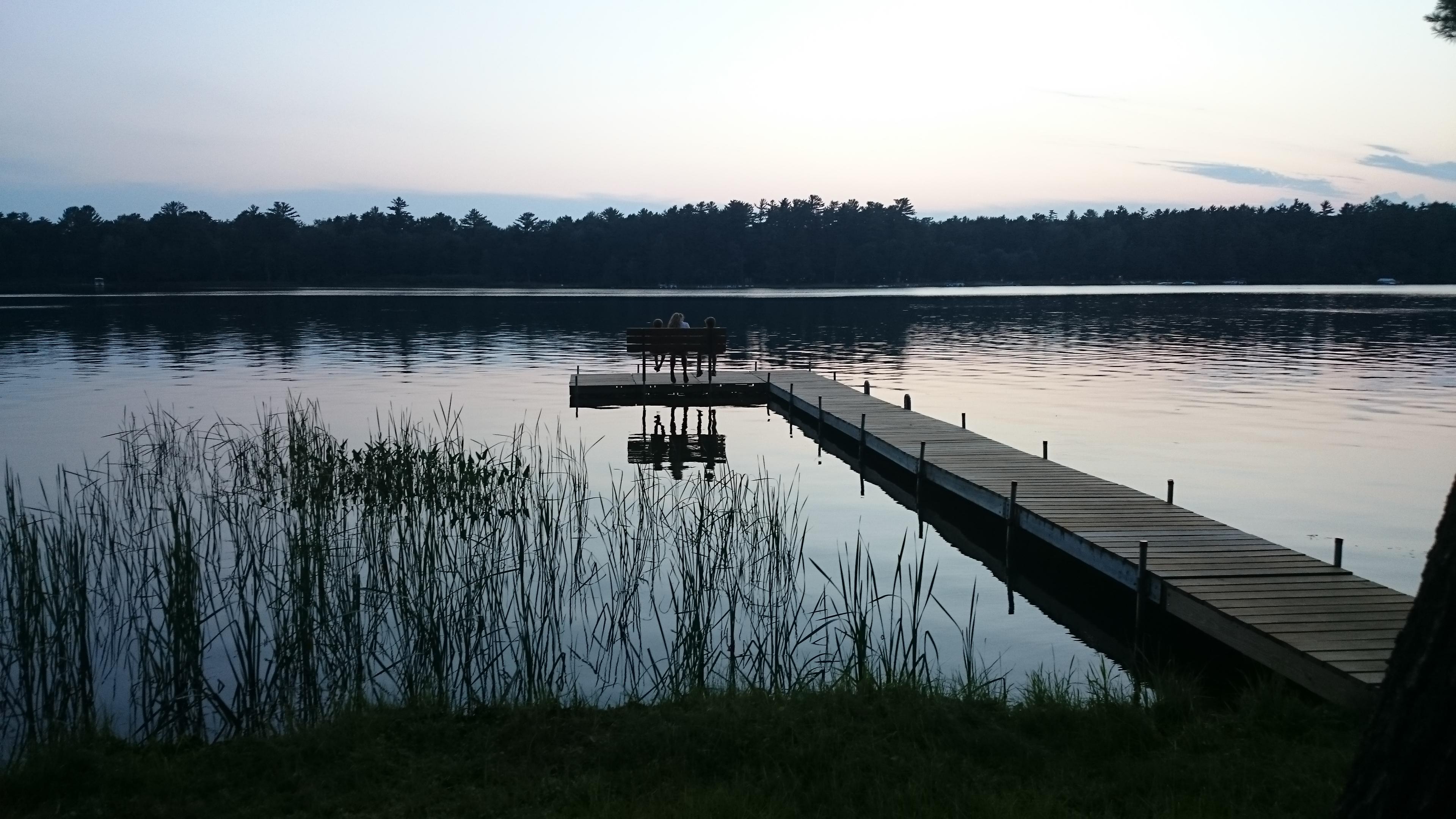 cousins on lost lake pier