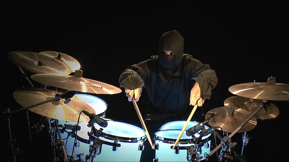 ninja drummers