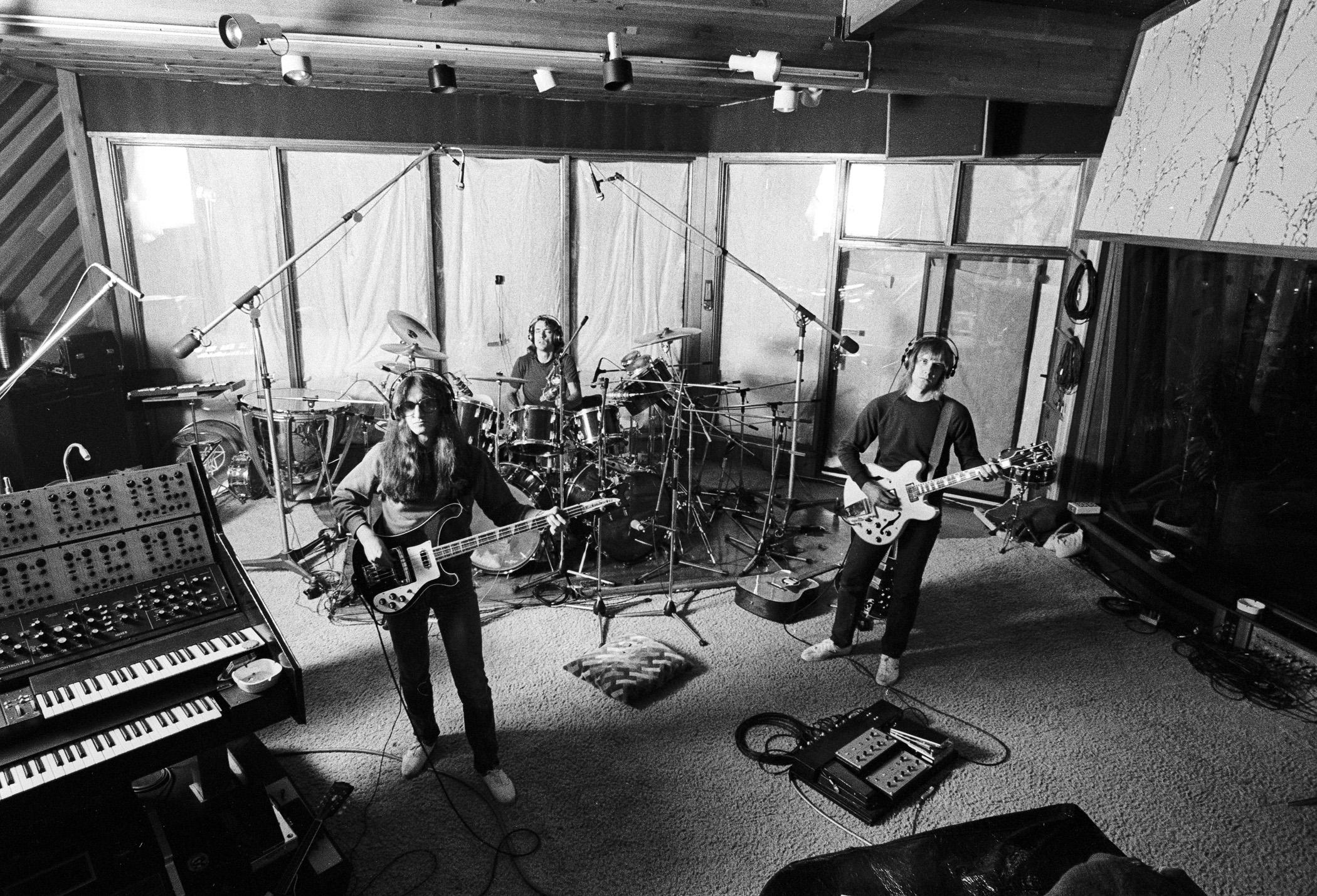 Rush recording Permanent Waves